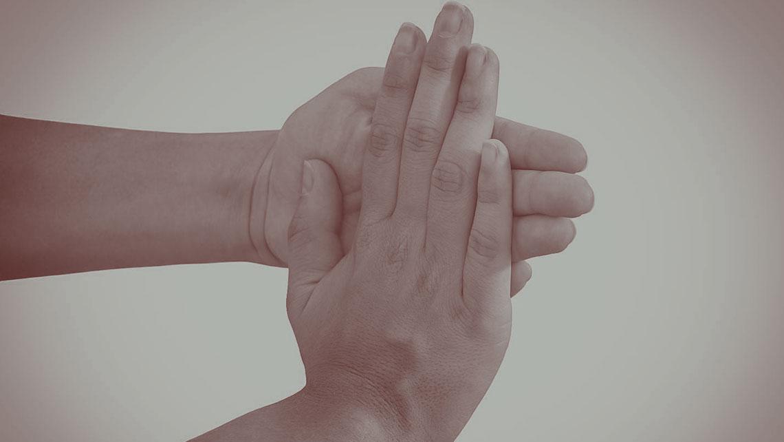 gevoelloze vingertoppen
